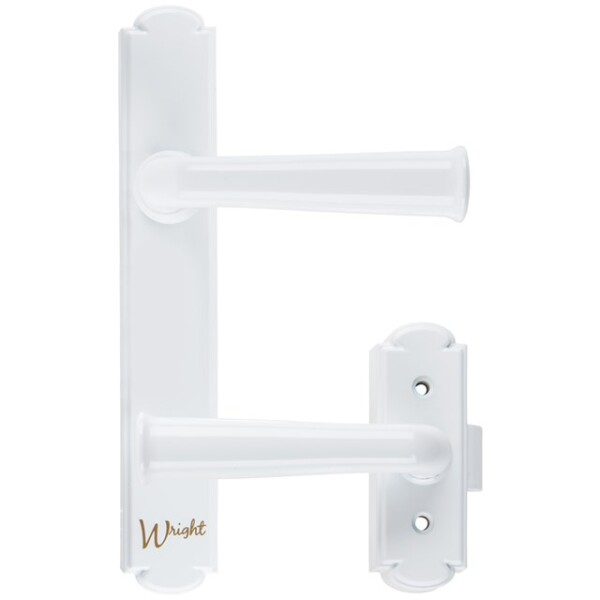 WASHBURN SURFACE MOUNT LATCH, WHITE Image