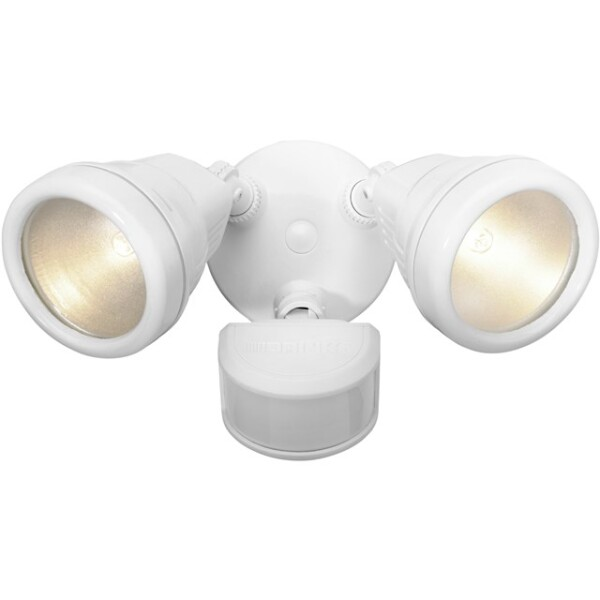 Brink's Dual Head JCD Motion Activated Security Light, White Image