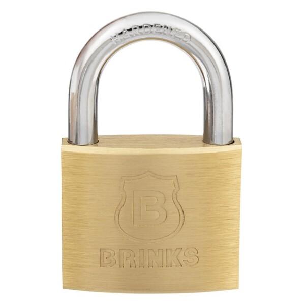 171-40401 Brink's 40mm Solid Brass Padlock