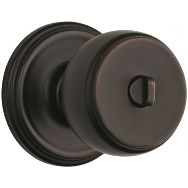 Brink's Push Pull Rotate Ganyon Interior Locking  Knob in Tuscan Bronze Image